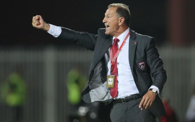 (Italiano) Da Sarmede all'Albania, De Biasi: «Italia, ti sfido. Alla mia Albania servono punti»
