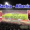SERBIA-ALBANIA: 3-0 victory