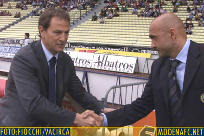 Il tecnico del miracolo Modena era in tribuna a Treviso De Biasi: I gialli possono farcela