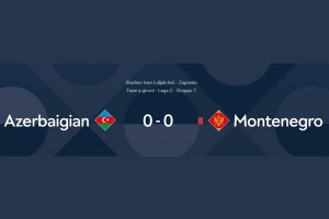 (Italiano) UEFA NATION LEAGUE – GRUPPO C: AZERBAIGIAN – MONTENEGRO : 0-0