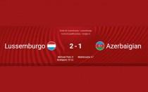 QUALIFICAZIONI MONDIALI 2022: LUSSEMBURGO – AZERBAIJAN 2-1