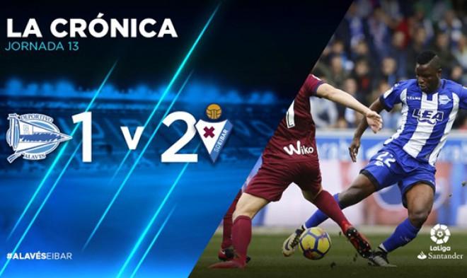 (Italiano) LaLiga 13^ Giornata | Deportivo Alavés – S.D. Eibar 1-2