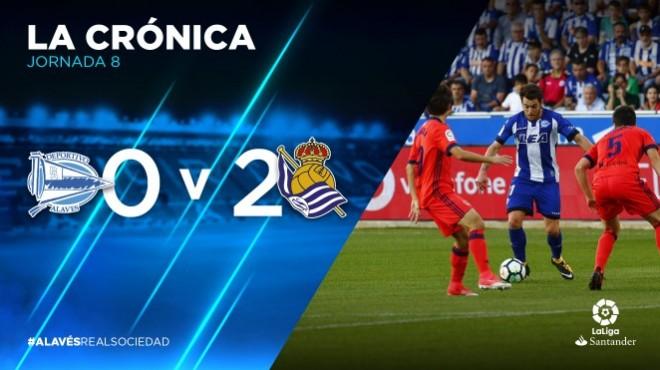 LaLiga 8^ Giornata | Deportivo Alavés – Real Sociedad 0-2