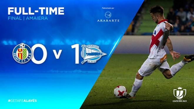 (Italiano) Copa del Rey – Turno intermedio – Andata | Getafe C.F. – Deportivo Alavés 0-1