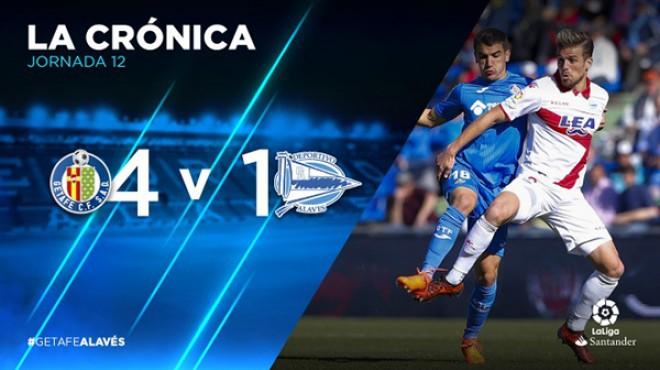 LaLiga 12^ Día | Getafe C.F. – Deportivo Alavés 4-1
