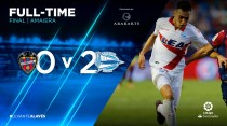 LaLiga 7^ Día | Levante U.D. – Deportivo Alavés 0-2