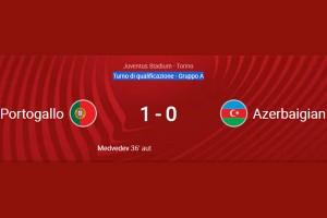 2022 WORD CUP QUALIFIER: PORTUGAL – AZERBAIJAN 1-0