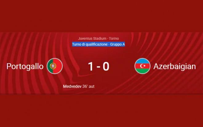 QUALIFICAZIONI MONDIALI 2022: PORTOGALLO – AZERBAIJAN 1-0