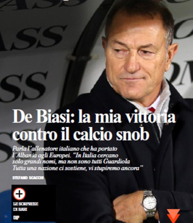 (Italiano) De Biasi: la mia vittoria contro il calcio snob