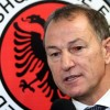 Italian Gianni De Biasi speaks to journa